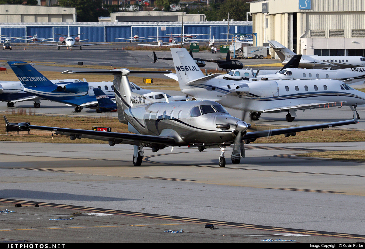 N320PW - Pilatus PC-12/45 - Private