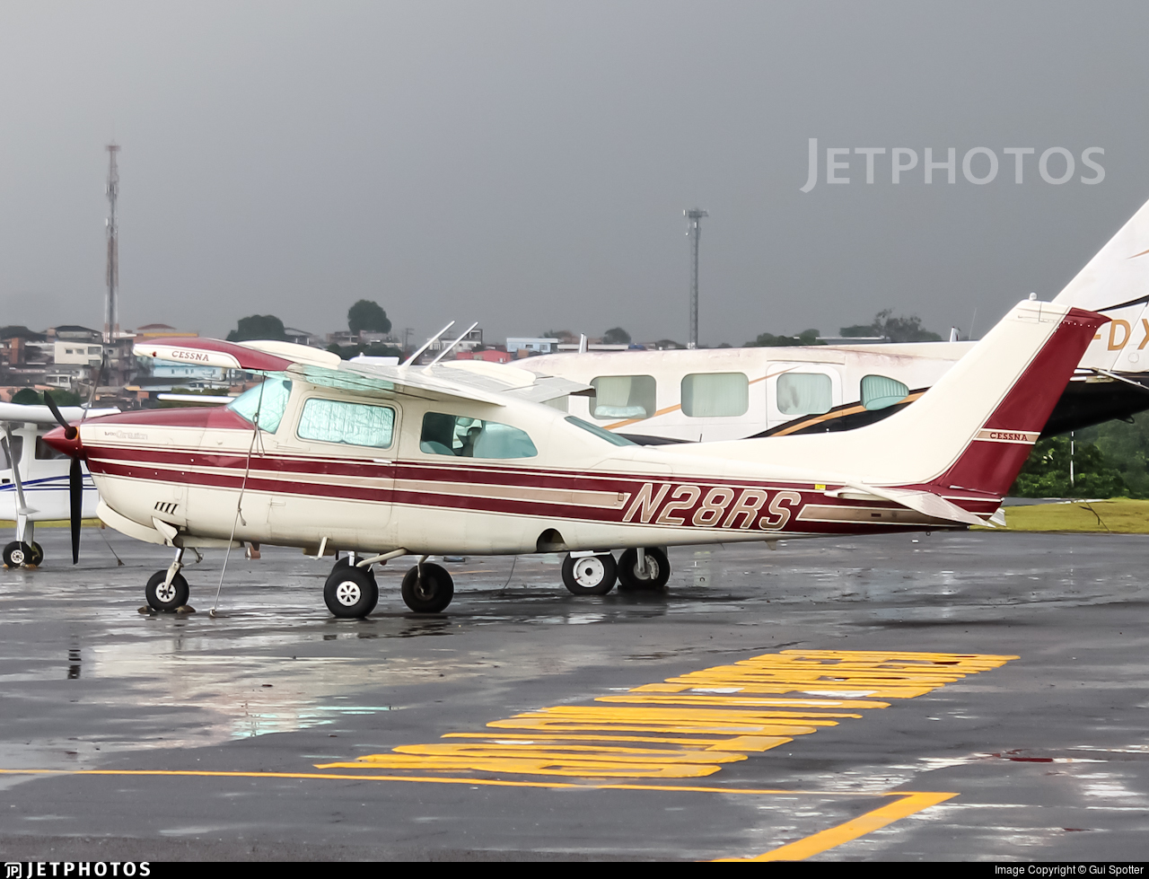 N28RS - Cessna T210K Turbo Centurion II - Private