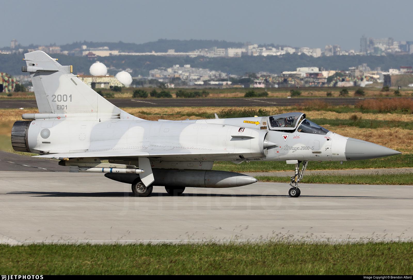 2001 - Dassault Mirage 2000-5EI - Taiwan - Air Force