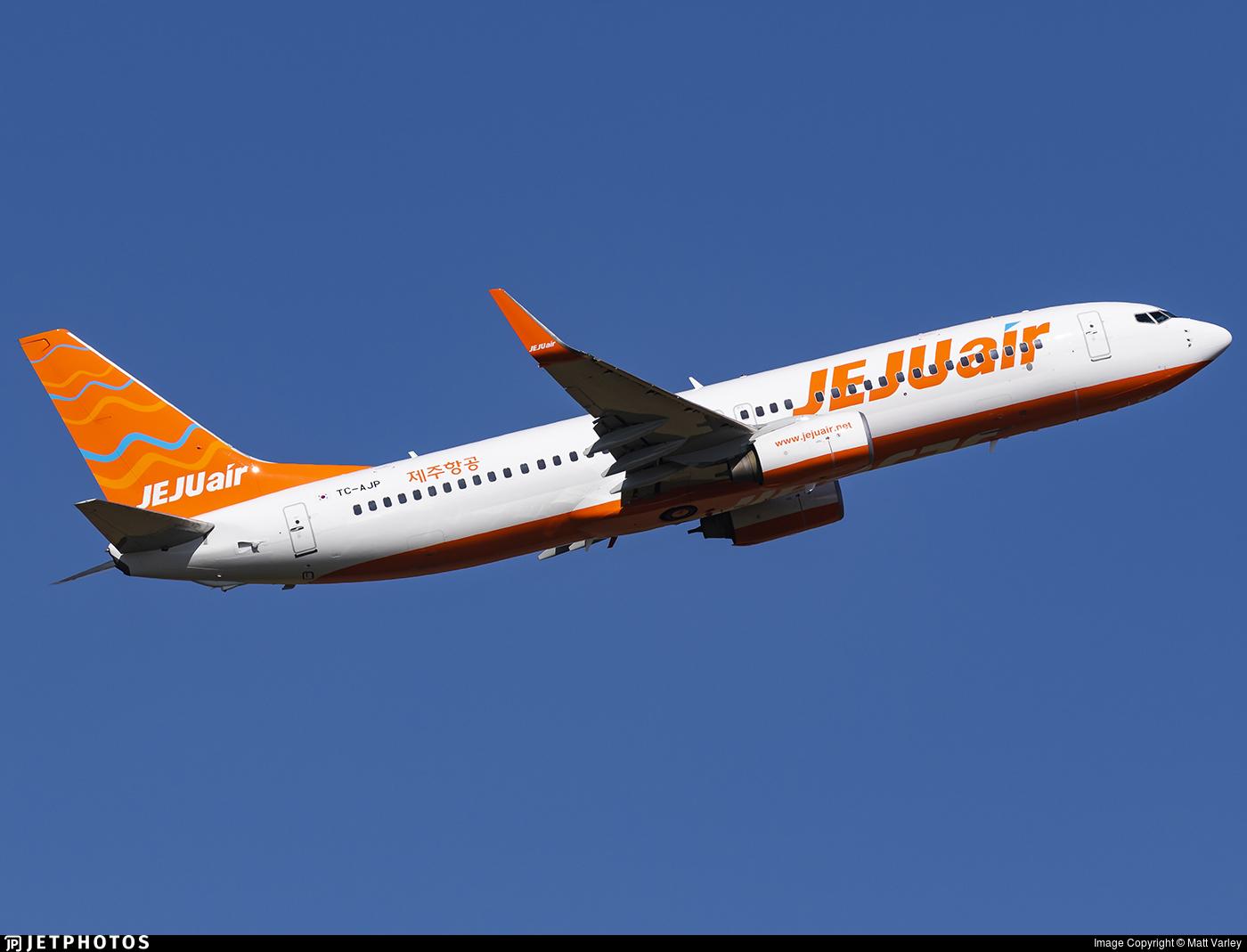 TC-AJP - Boeing 737-82R - Jeju Air