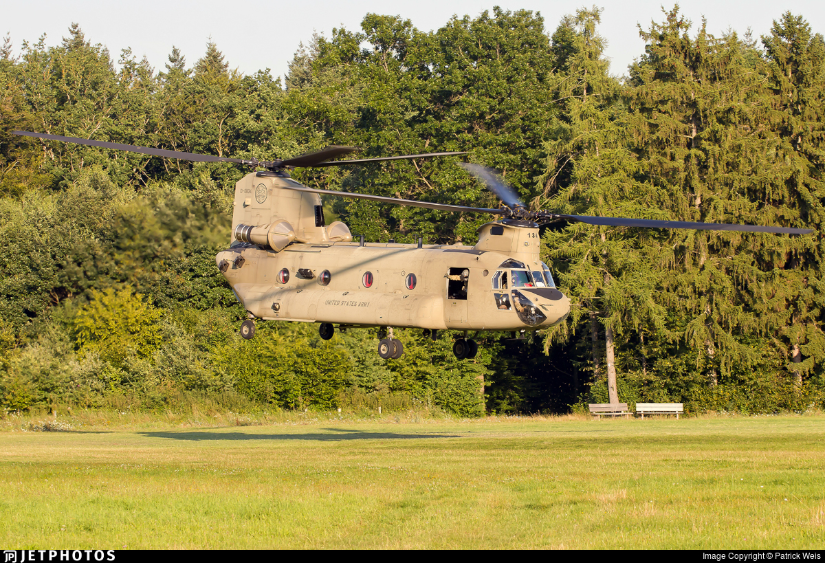 13-08134 - Boeing CH-47F Chinook - United States - US Army