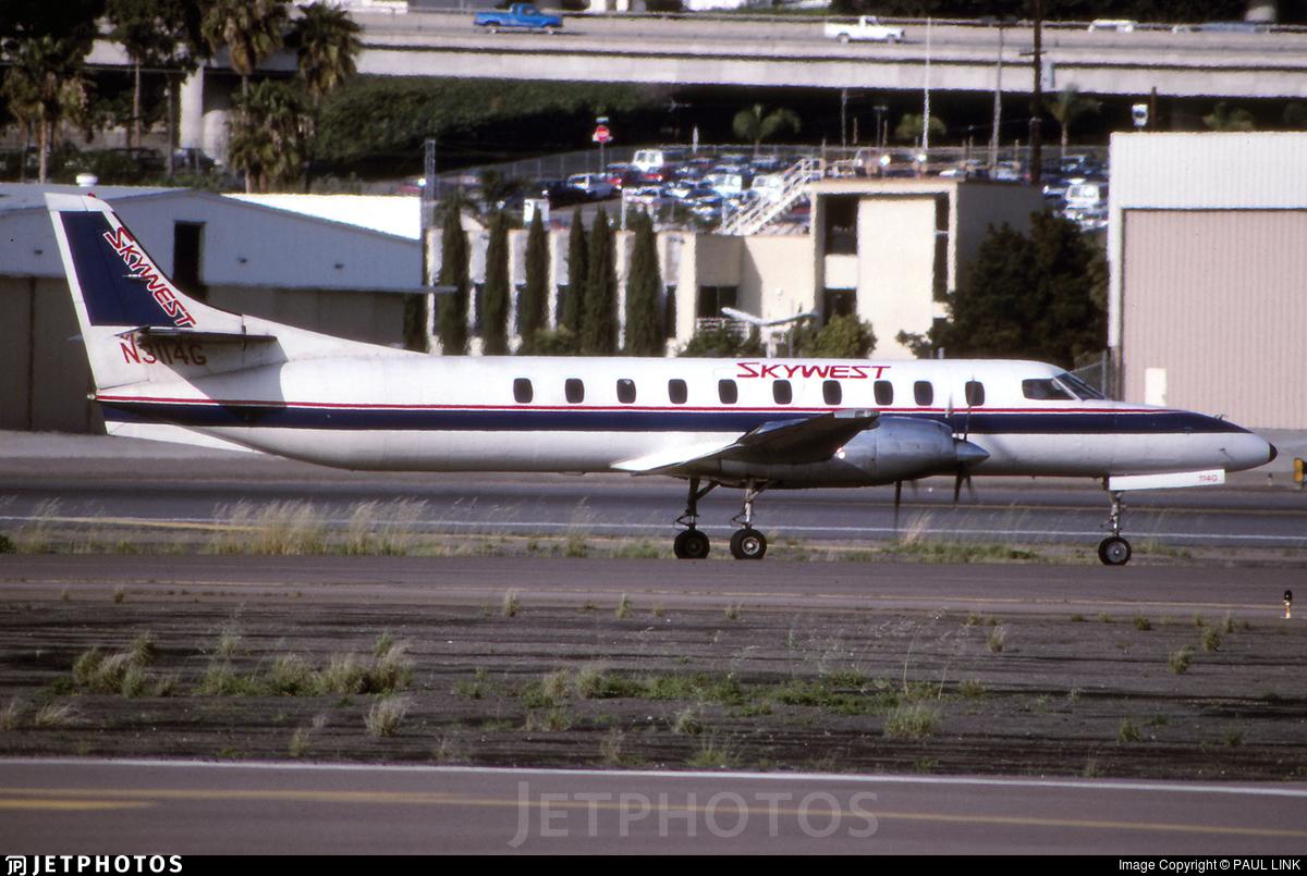 N3114G - Fairchild SA227-AC Metro III - Skywest Aviation