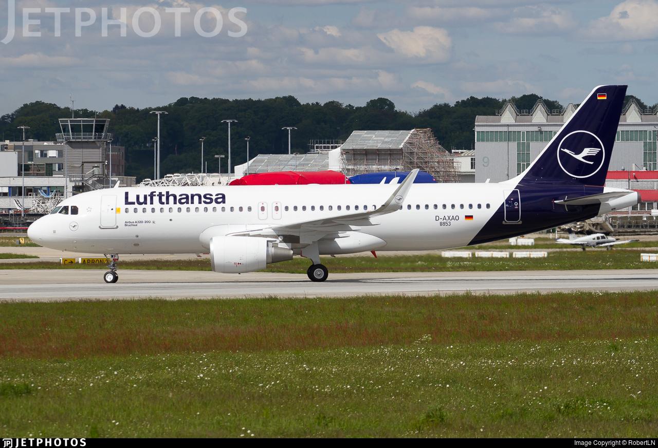 D-AXAO - Airbus A320-214 - Lufthansa