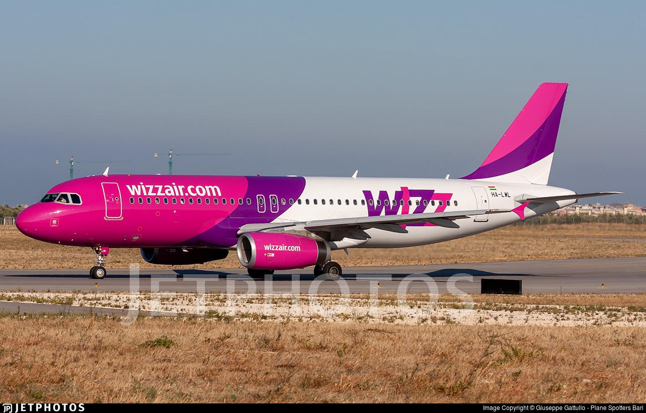 HA-LWL - Airbus A320-232 - Wizz Air