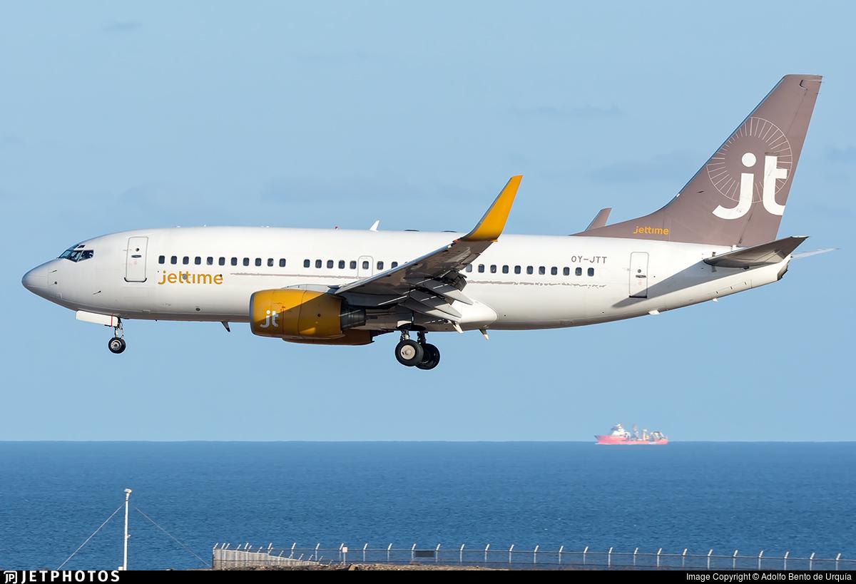OY-JTT - Boeing 737-73S - Jettime