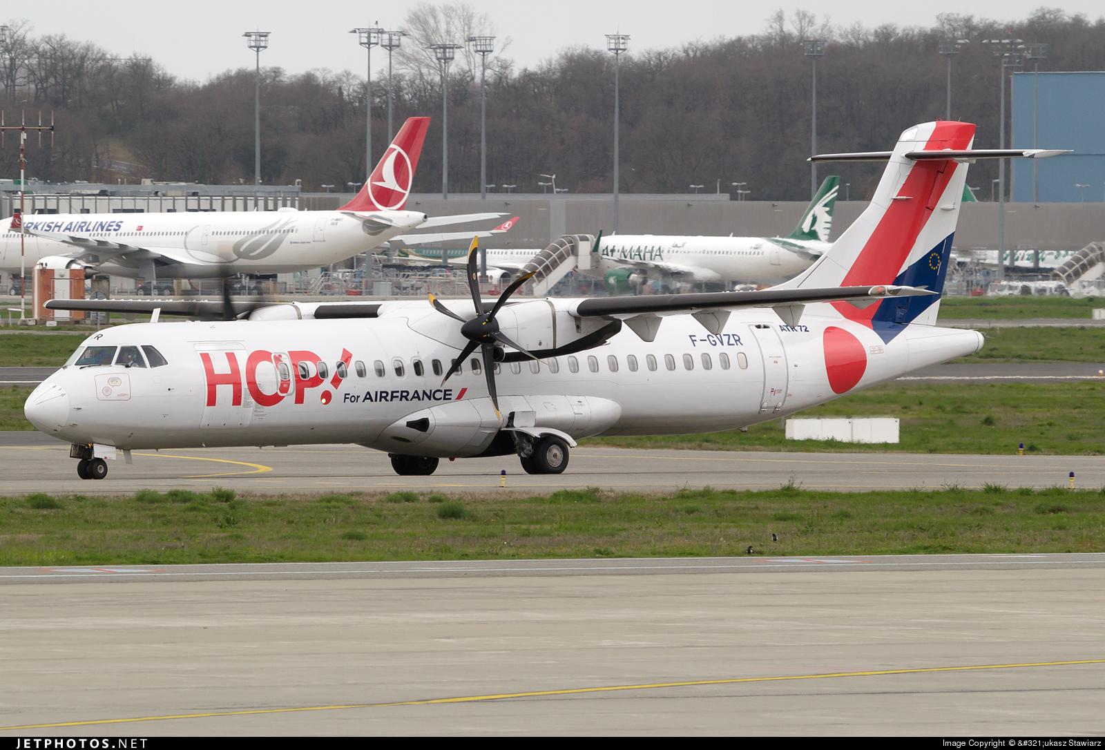 F-GVZR - ATR 72-212A(500) - HOP! for Air France