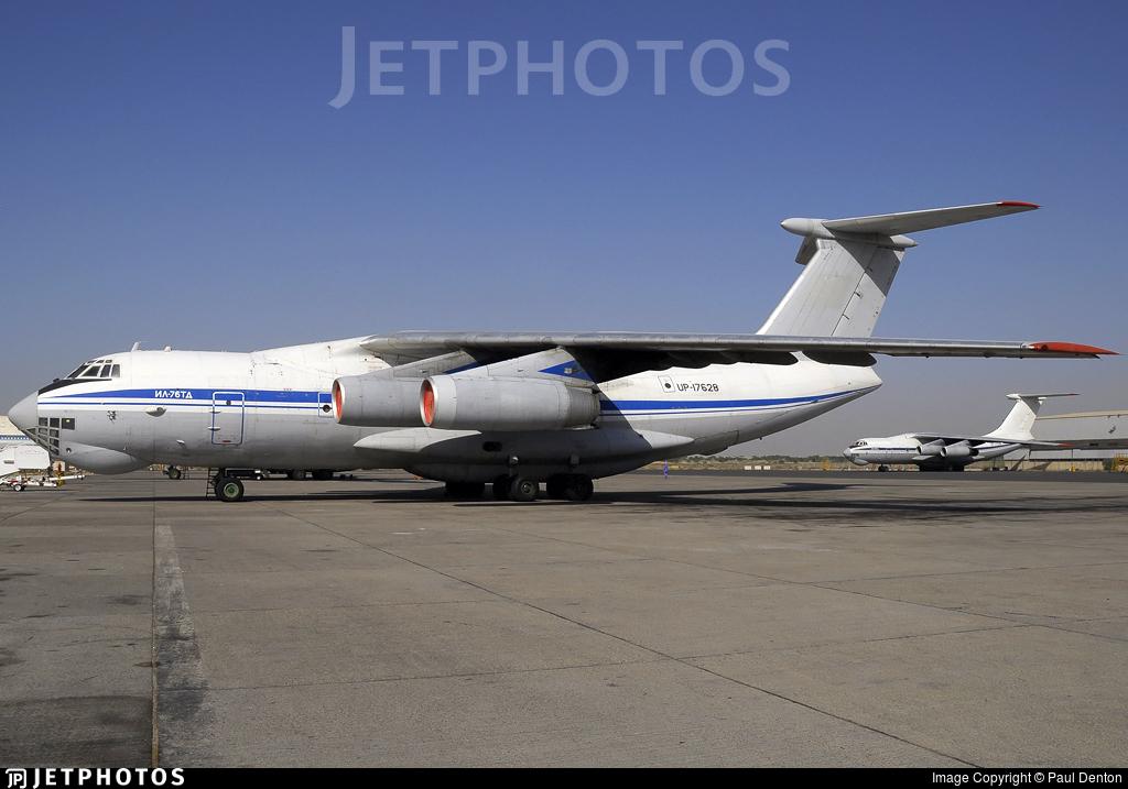 UP-I7628 - Ilyushin IL-76TD - Eastern Express Air Company