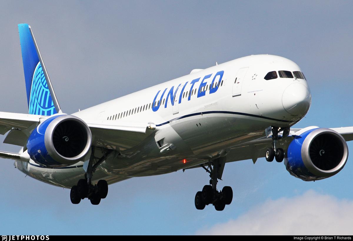 N19986 - Boeing 787-9 Dreamliner - United Airlines