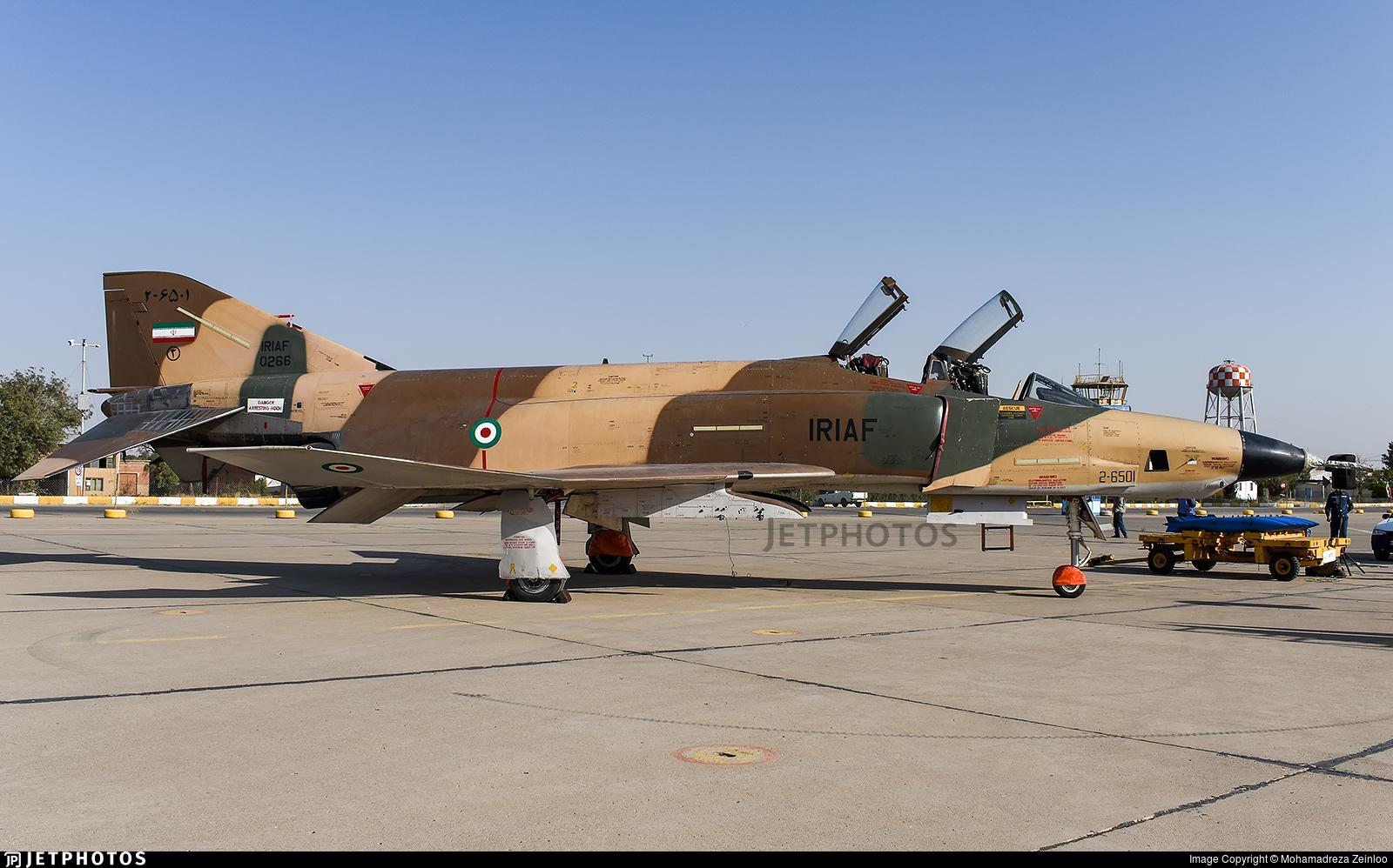 2-6501 - McDonnell Douglas RF-4E Phantom II - Iran - Air Force