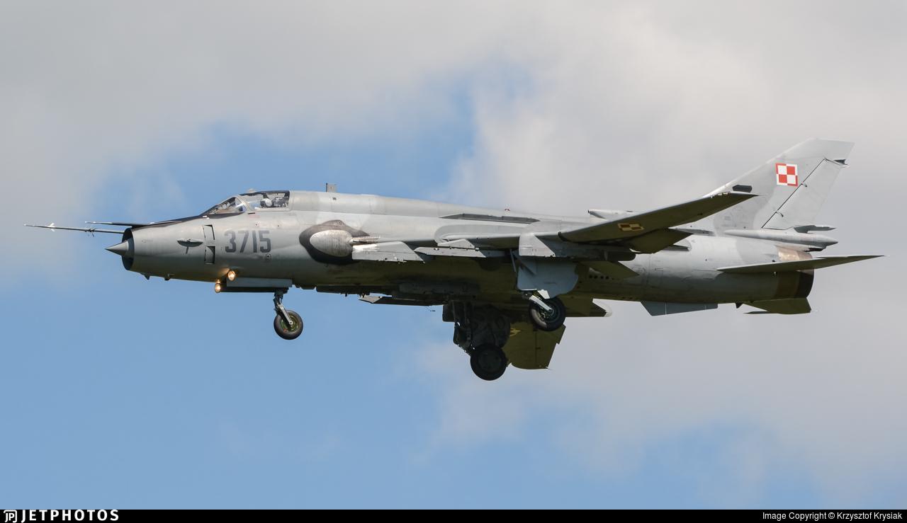 3715 - Sukhoi Su-22M4 Fitter K - Poland - Air Force
