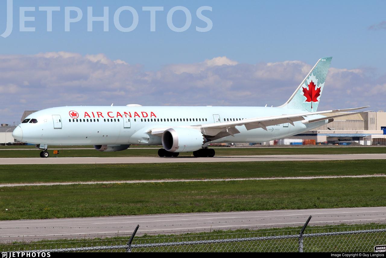C-FRSI - Boeing 787-9 Dreamliner - Air Canada