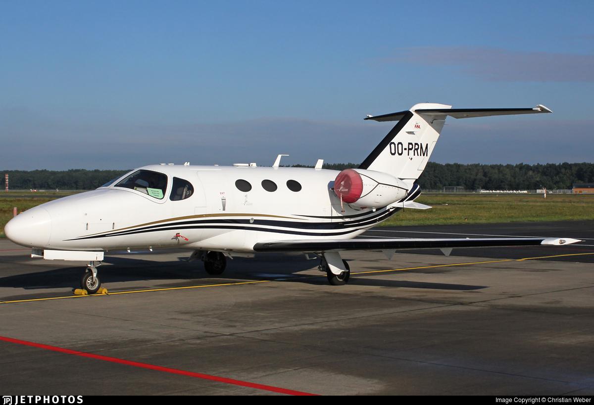 OO-PRM - Cessna 510 Citation Mustang - Air Service Liège (ASL)