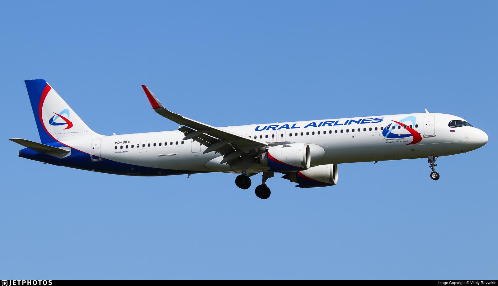VQ-BKX - Airbus A321-251NX - Ural Airlines