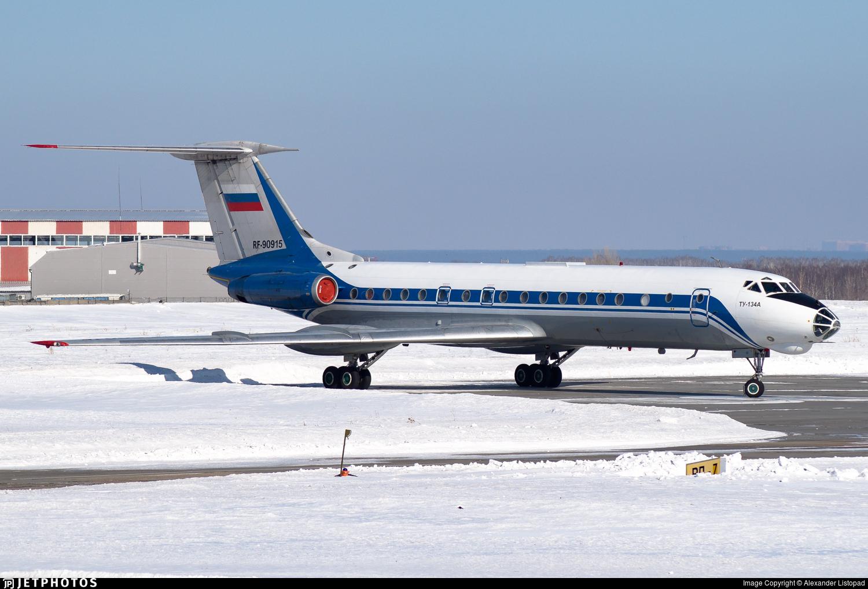 RF-90915 - Tupolev Tu-134AK - Russia - Air Force