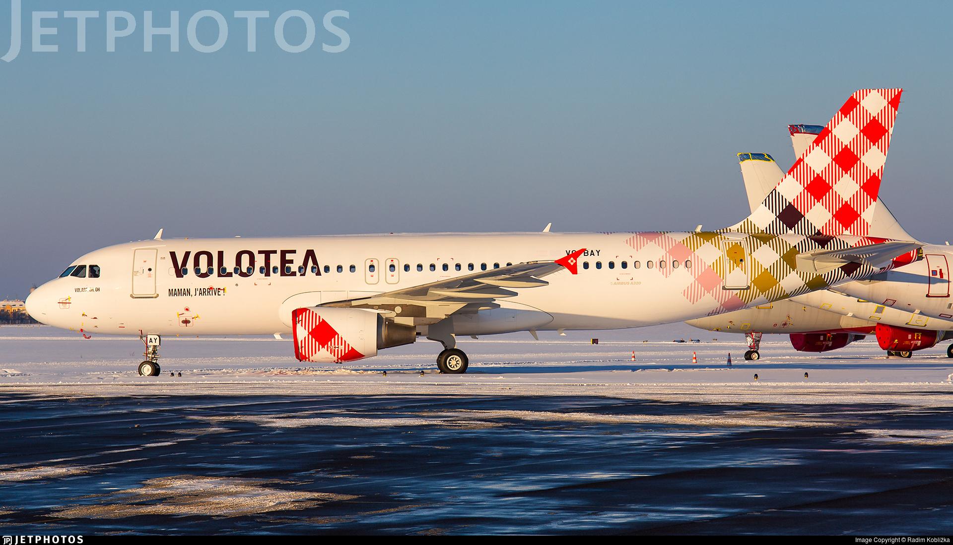 VQ-BAY - Airbus A320-214 - Volotea