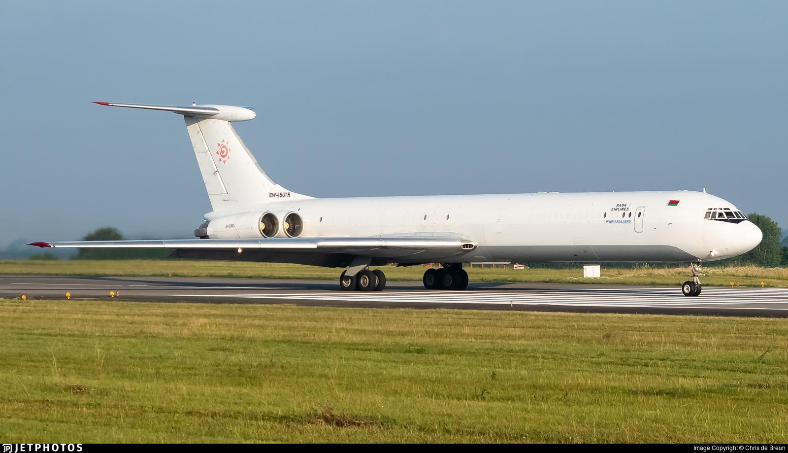 EW-450TR - Ilyushin IL-62MGr - Rada Airlines