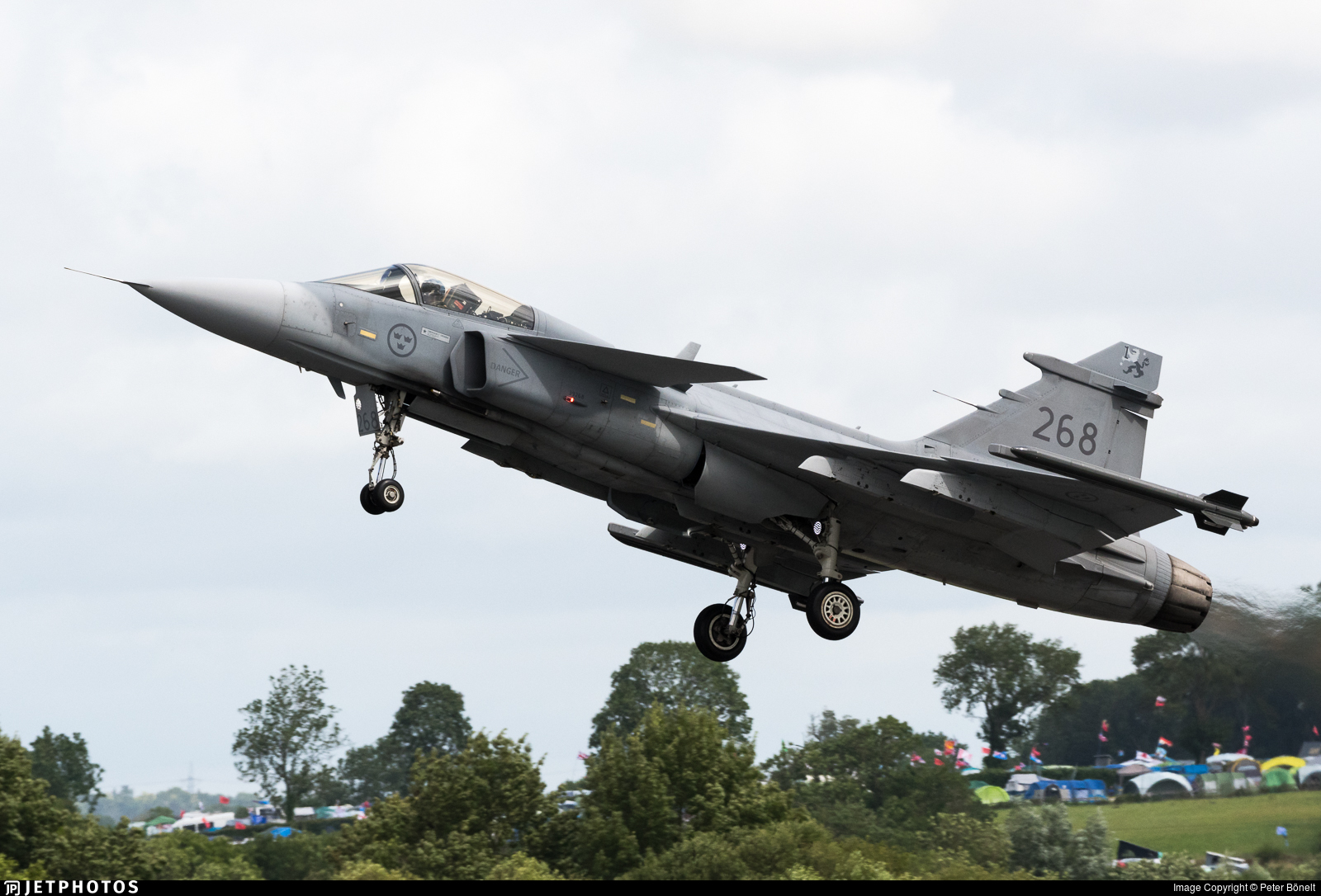 268 - Saab JAS-39C Gripen - Sweden - Air Force