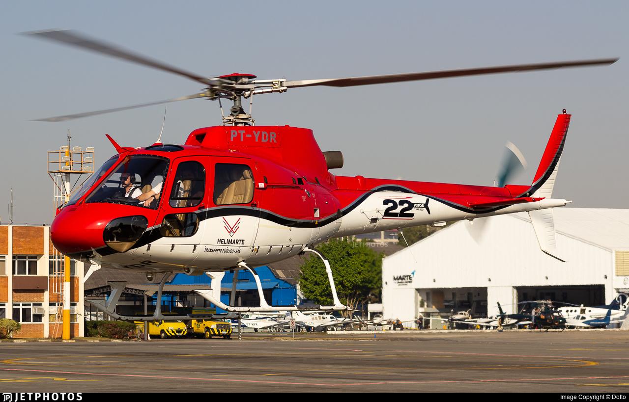 PT-YDR - Helibrás AS-350B2 Esquilo - Helimarte Taxi Aéreo