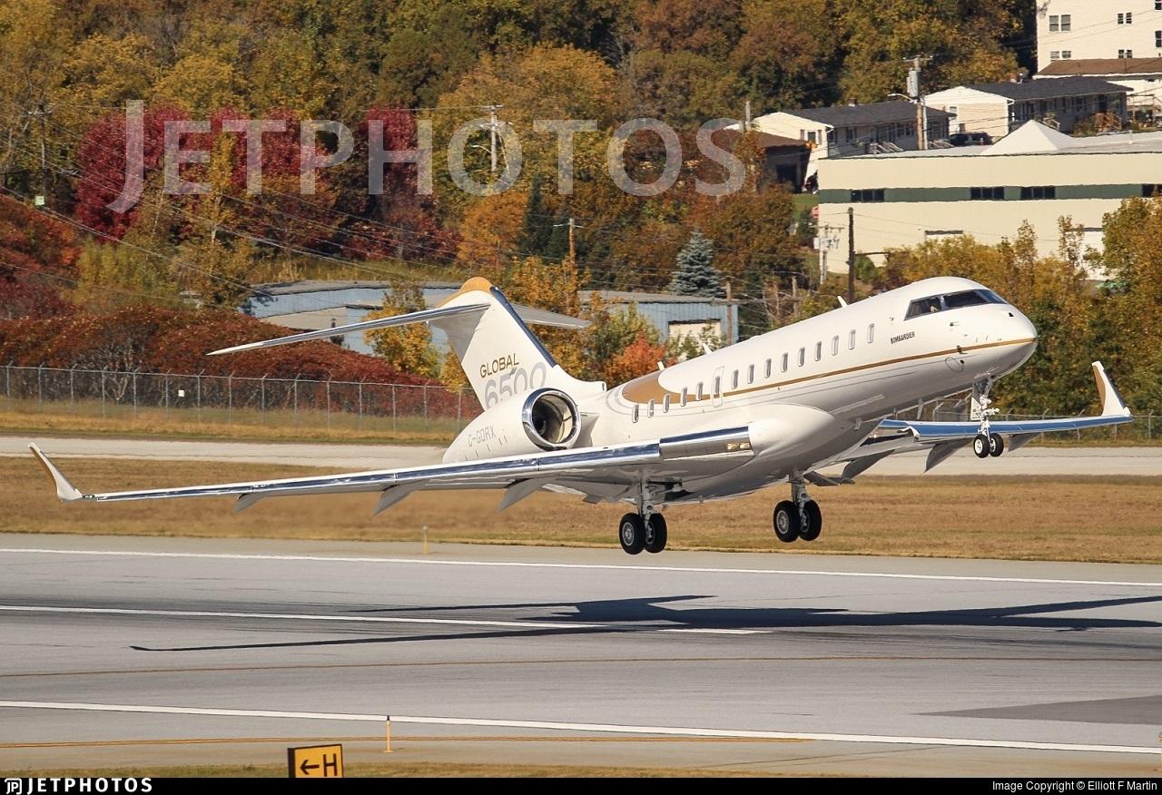 C-GDRX - Bombardier BD-700-1A10 Global 6500 - Bombardier Aerospace