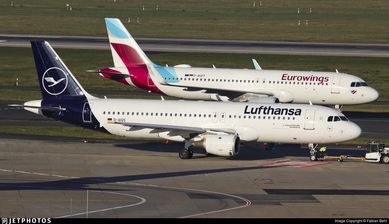 D-AIQS - Airbus A320-211 - Lufthansa