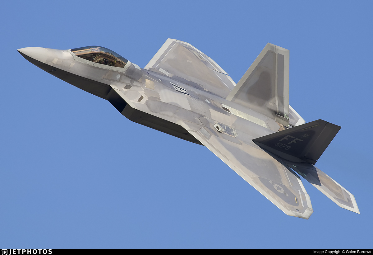 09-4179 - Lockheed Martin F-22A Raptor - United States - US Air Force (USAF)
