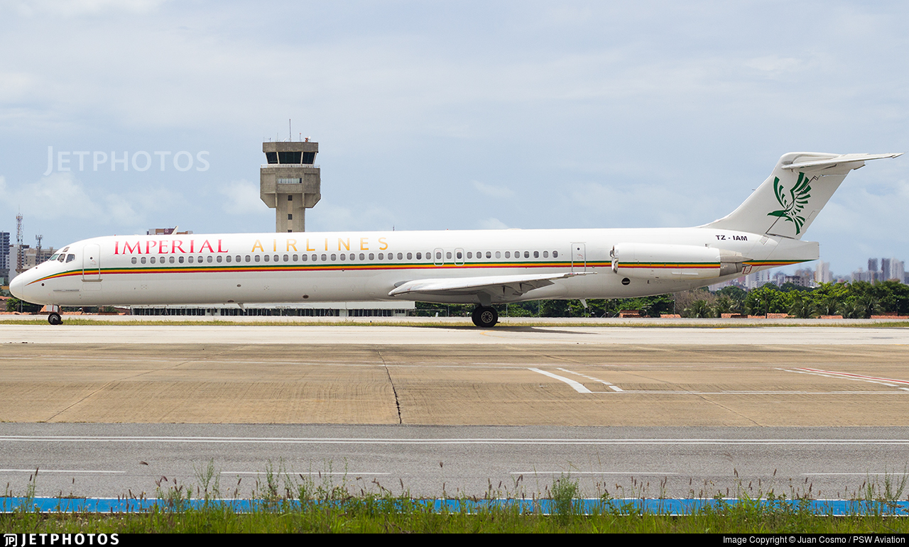 TZ-IAM - McDonnell Douglas MD-82 - Imperial Airlines