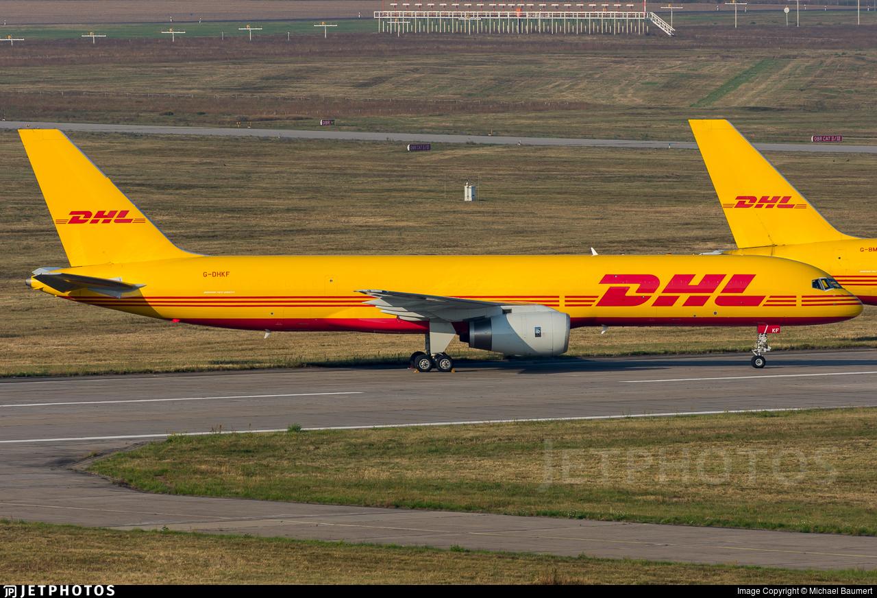 G-DHKF - Boeing 757-236(PCF) - DHL Air