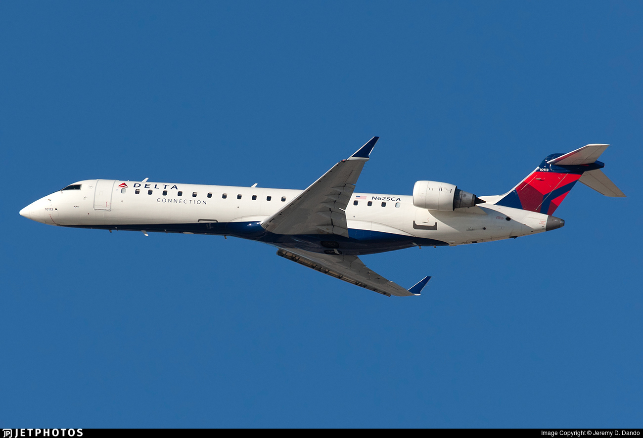 N625CA - Bombardier CRJ-701ER - Delta Connection (SkyWest Airlines)
