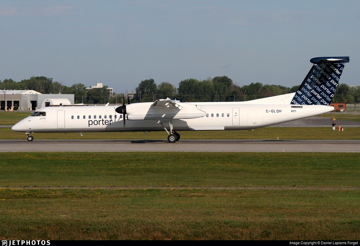 C-GLQH - Bombardier Dash 8-Q402 - Porter Airlines