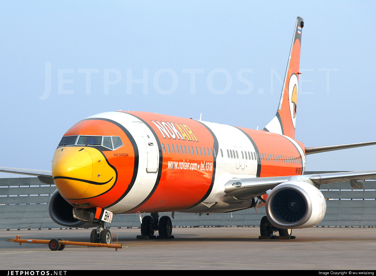 HS-DBH - Boeing 737-83N - Nok Air
