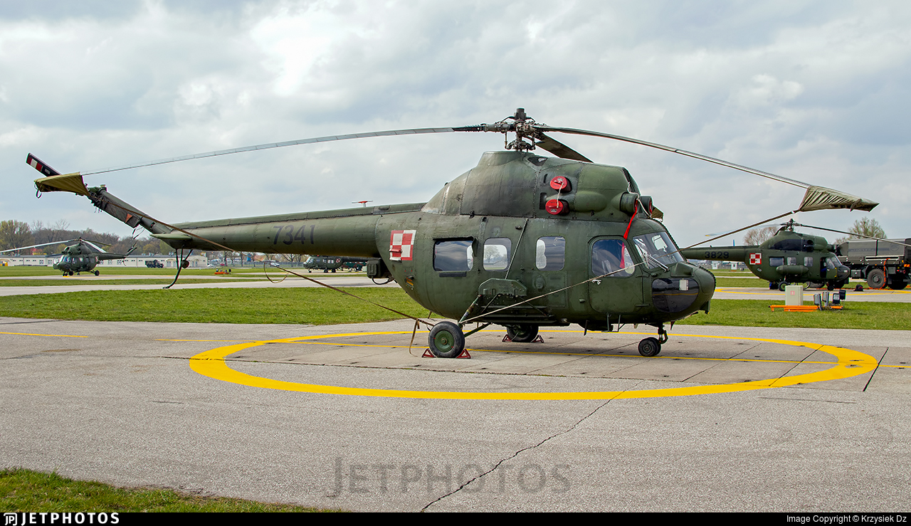 7341 - PZL-Swidnik Mi-2URPG Hoplite - Poland - Army