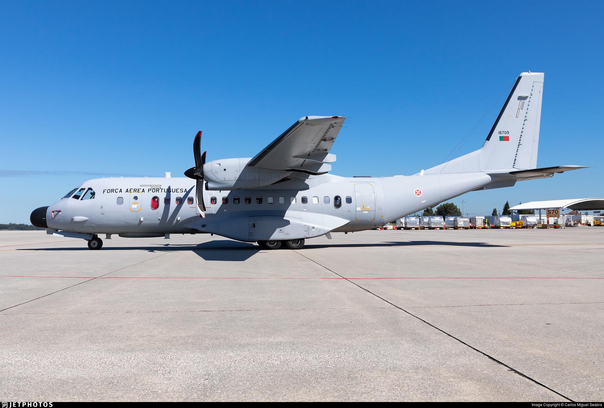 16709 - CASA C-295MP Persuader - Portugal - Air Force