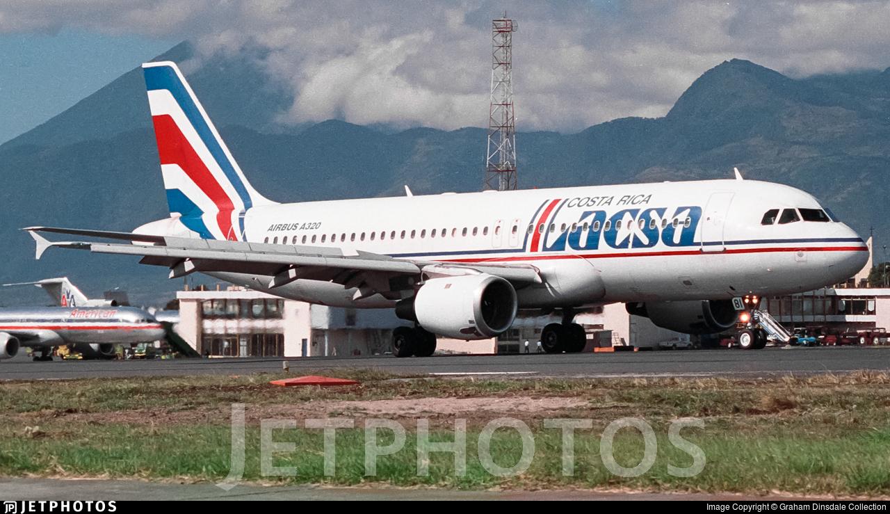 N481GX - Airbus A320-212 - LACSA