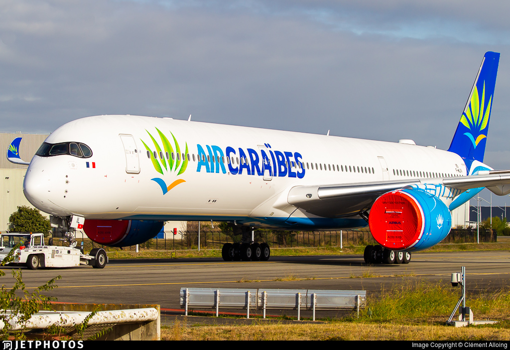 F-WLXV - Airbus A350-1041 - Air Cara�bes Atlantique