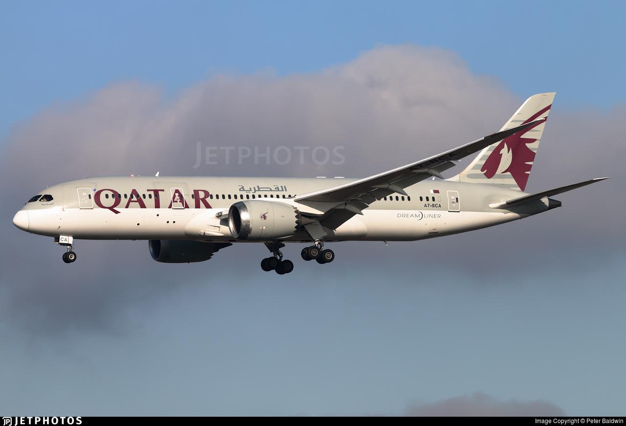 A7-BCA - Boeing 787-8 Dreamliner - Qatar Airways