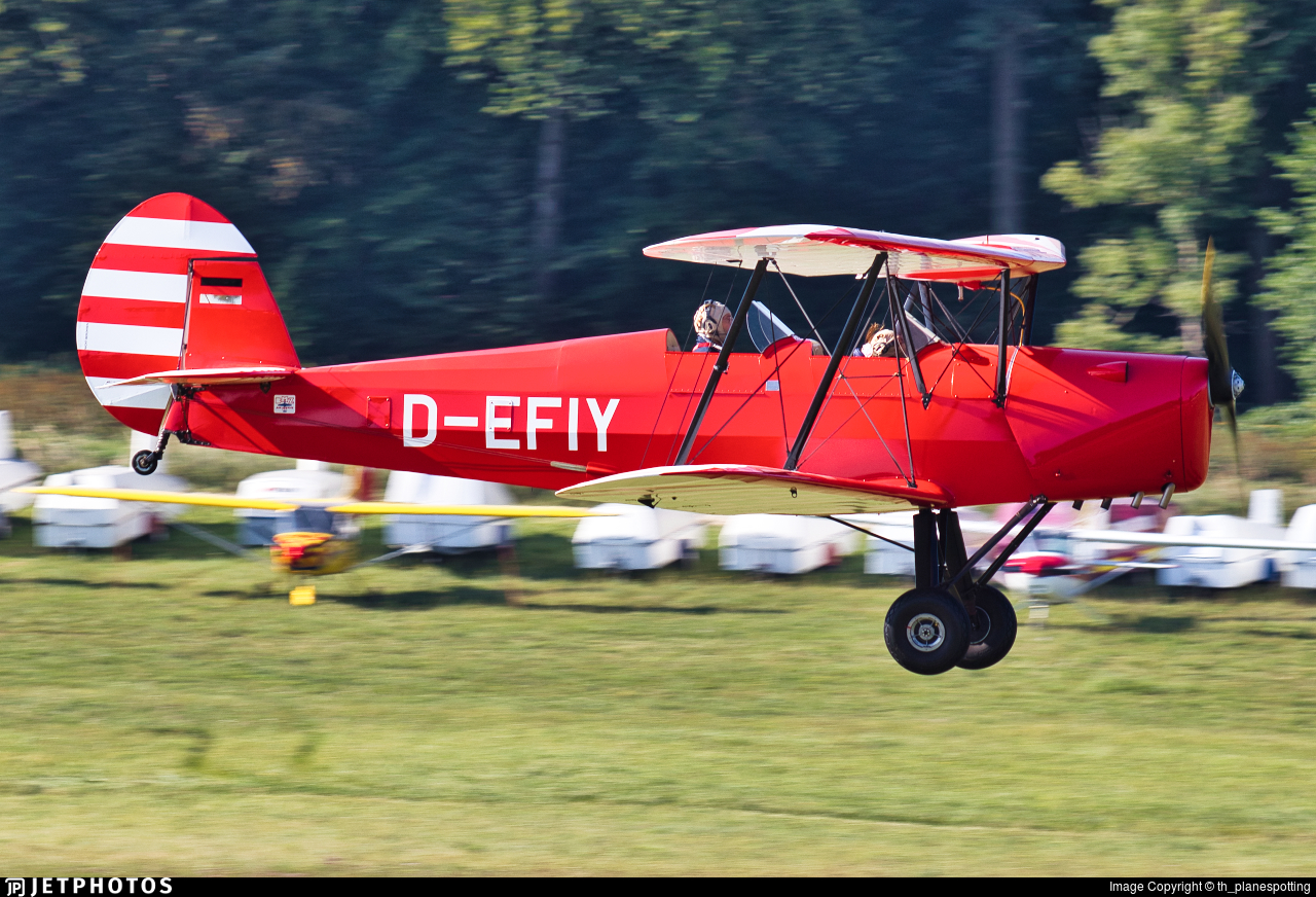 D-EFIY - Stampe and Vertongen SV-4C - Private
