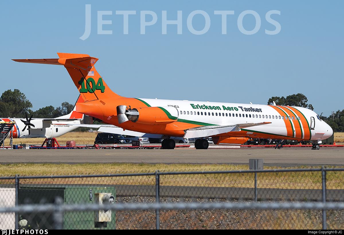 N294EA - McDonnell Douglas MD-87 - Erickson Aero Tanker