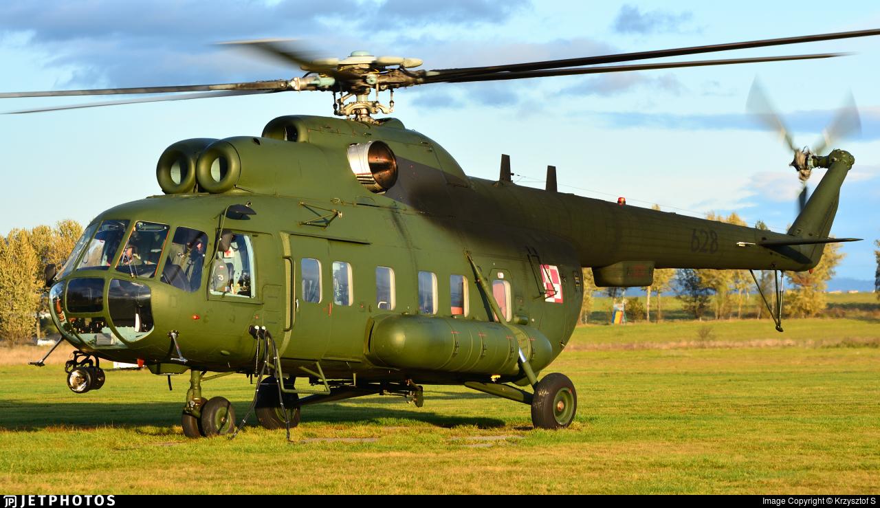 628 - Mil Mi-8RL Hip - Poland - Air Force