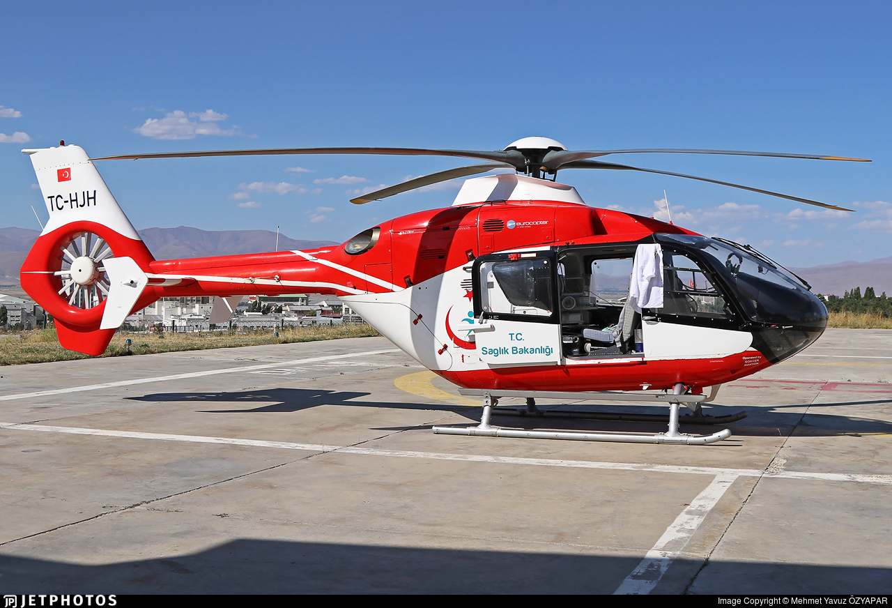 TC-HJH - Eurocopter EC 135T2i - Turkey - Ministry of Health