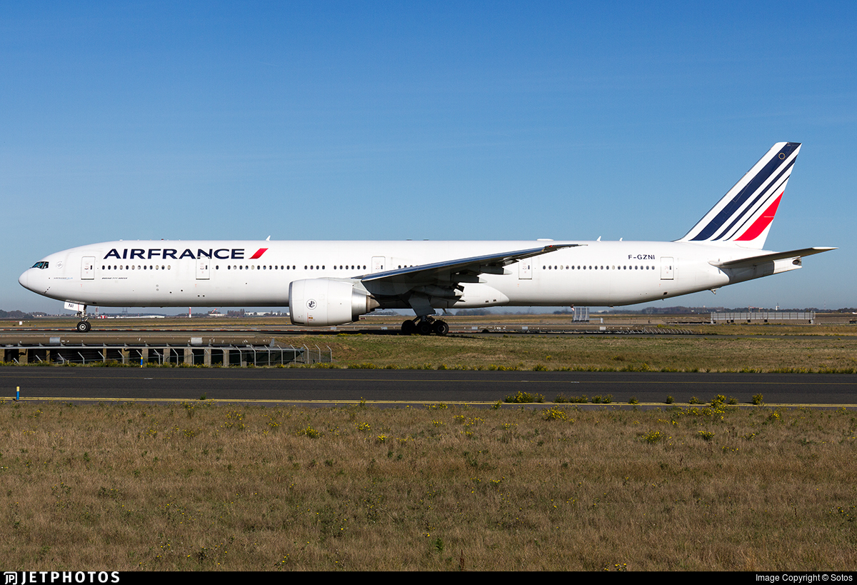 F-GZNI - Boeing 777-328ER - Air France