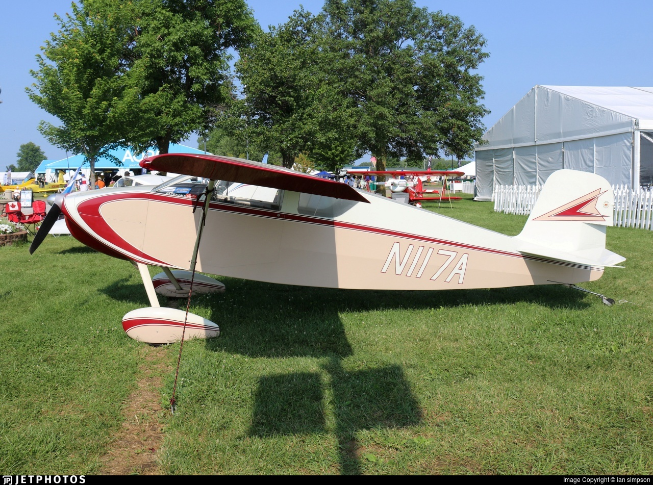 N117A - Wittman W-8 Tailwind - Private