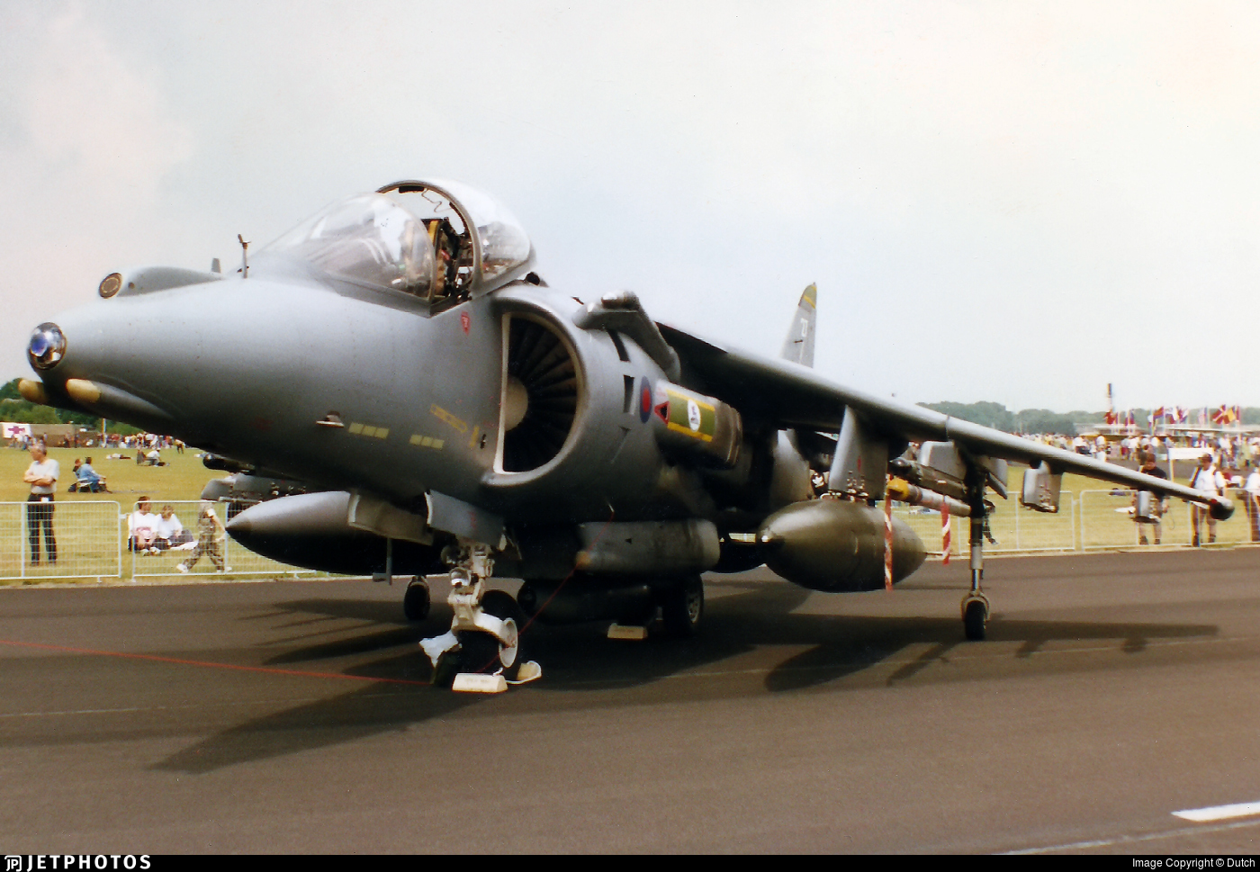 ZD379 - British Aerospace Harrier GR.7 - United Kingdom - Royal Air Force (RAF)