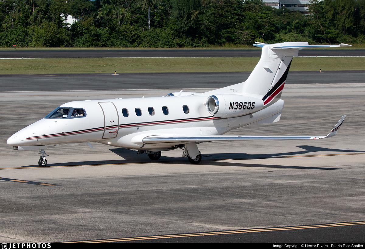 N386QS - Embraer 505 Phenom 300 - NetJets Aviation