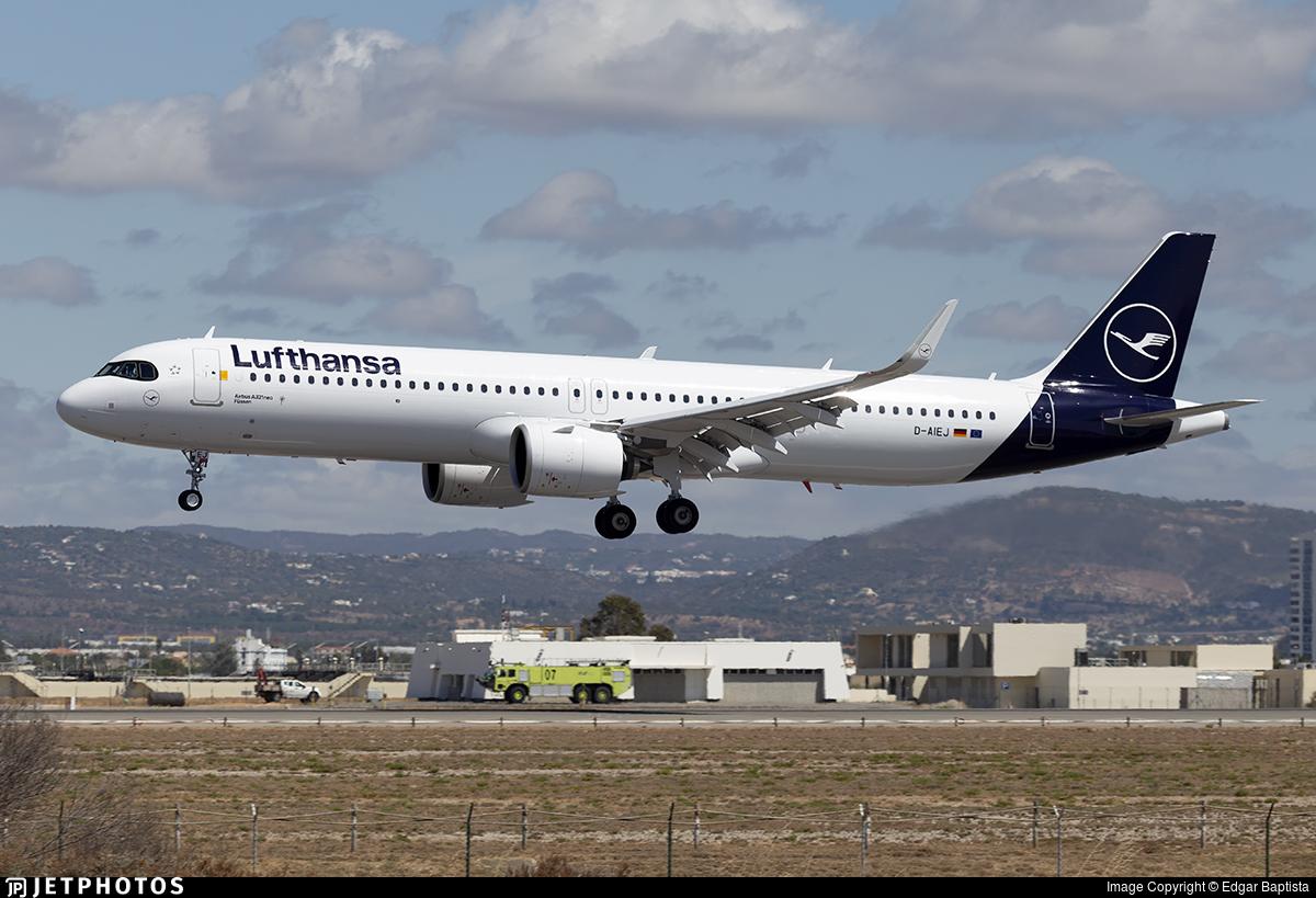 D-AIEJ - Airbus A321-271NX - Lufthansa