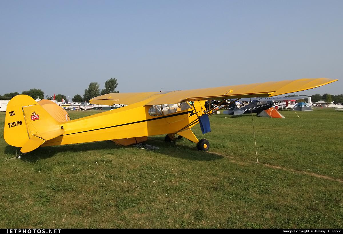 N2207M - Piper J-3C-65 Cub - Private