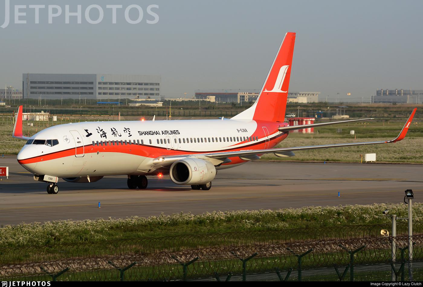 B-5368 - Boeing 737-8Q8 - Shanghai Airlines