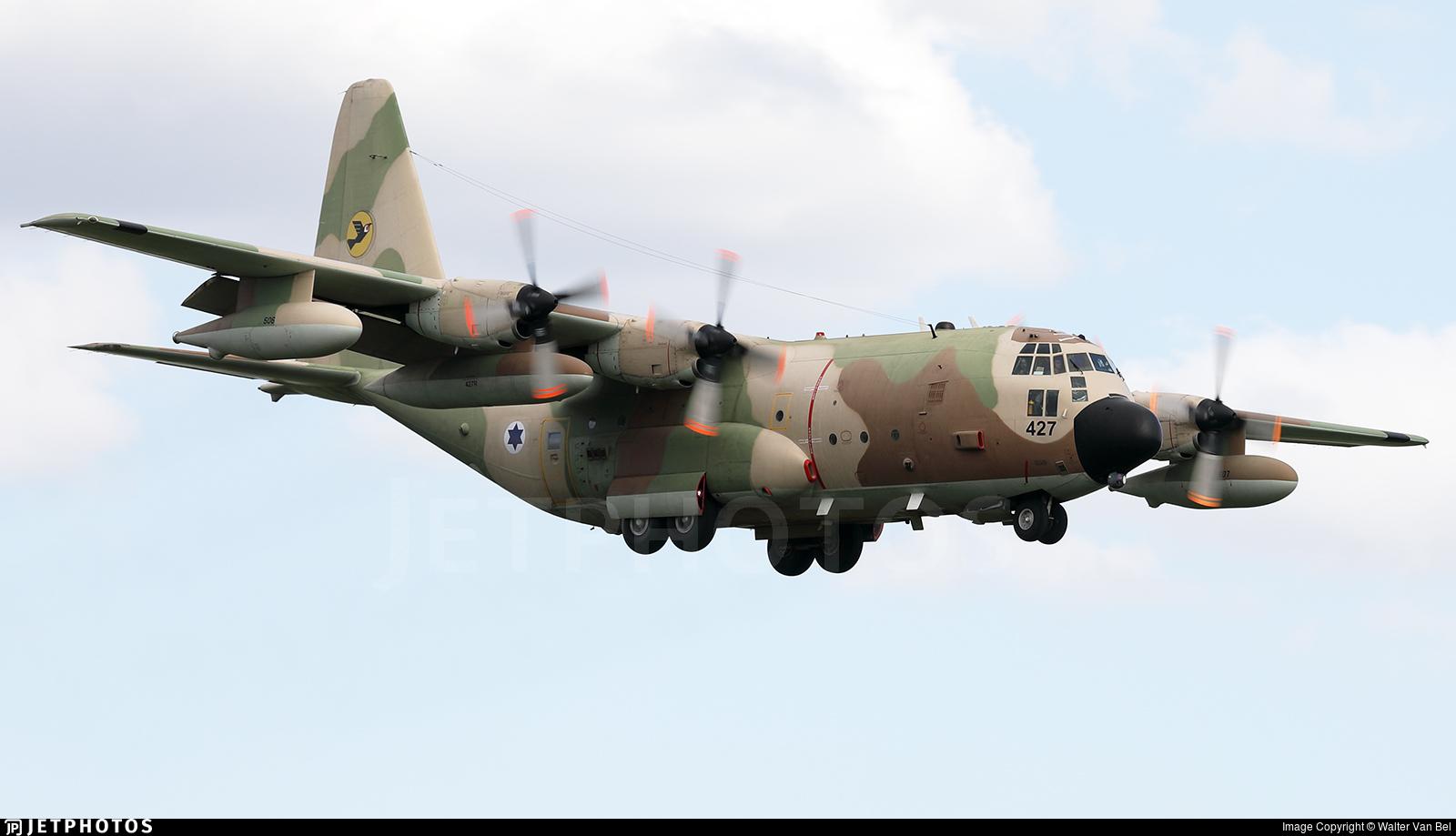 427 - Lockheed KC-130H Karnaf - Israel - Air Force