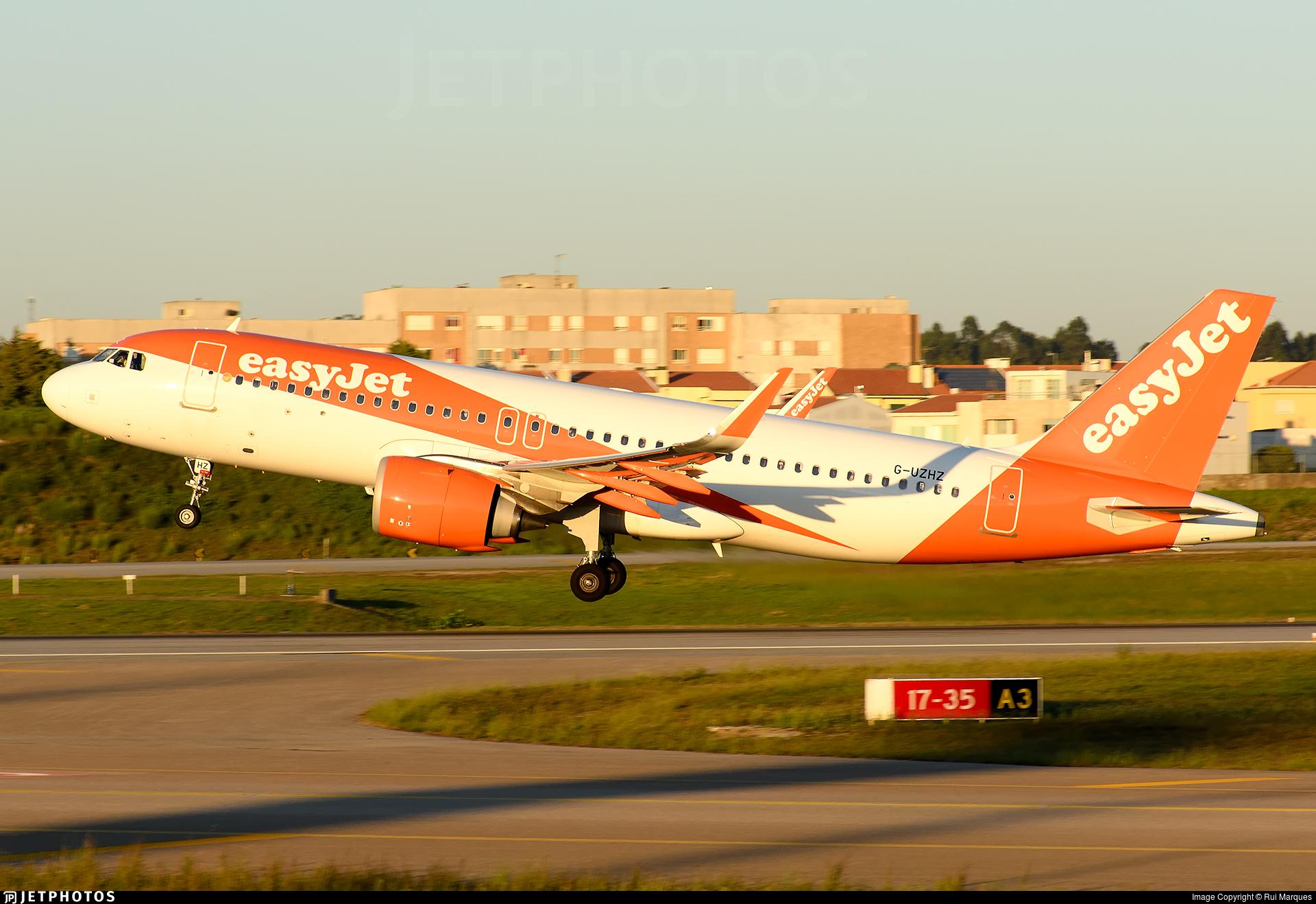 G-UZHZ - Airbus A320-251N - easyJet