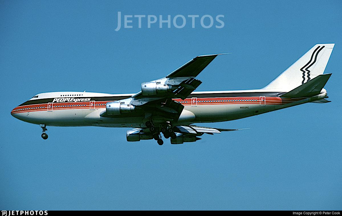 N602PE - Boeing 747-227B - PEOPLExpress
