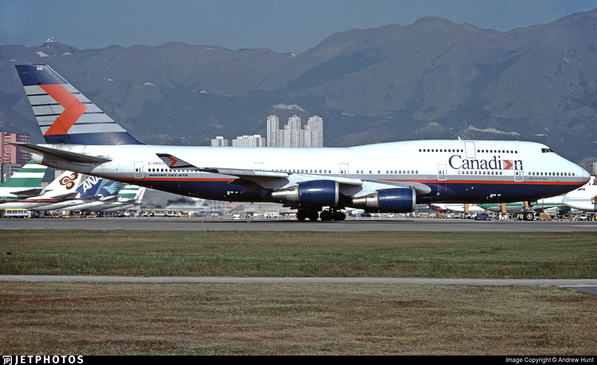 C-GMWW - Boeing 747-475 - Canadian Airlines International